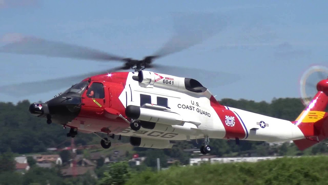 Sikorsky MH-60 Jayhawk RC Scale Helicopter Swiss Heli Challenge 2018