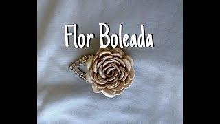 Como fazer Flor Boleada sem Boleador