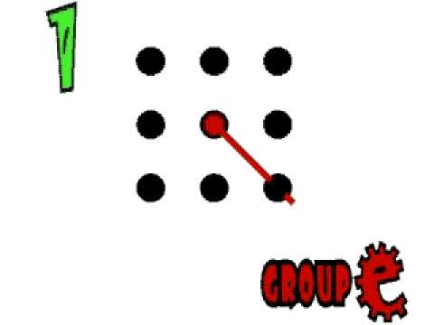Number Names Worksheets connect the dots in 4 lines : Nine dots four lines solution. - YouTube