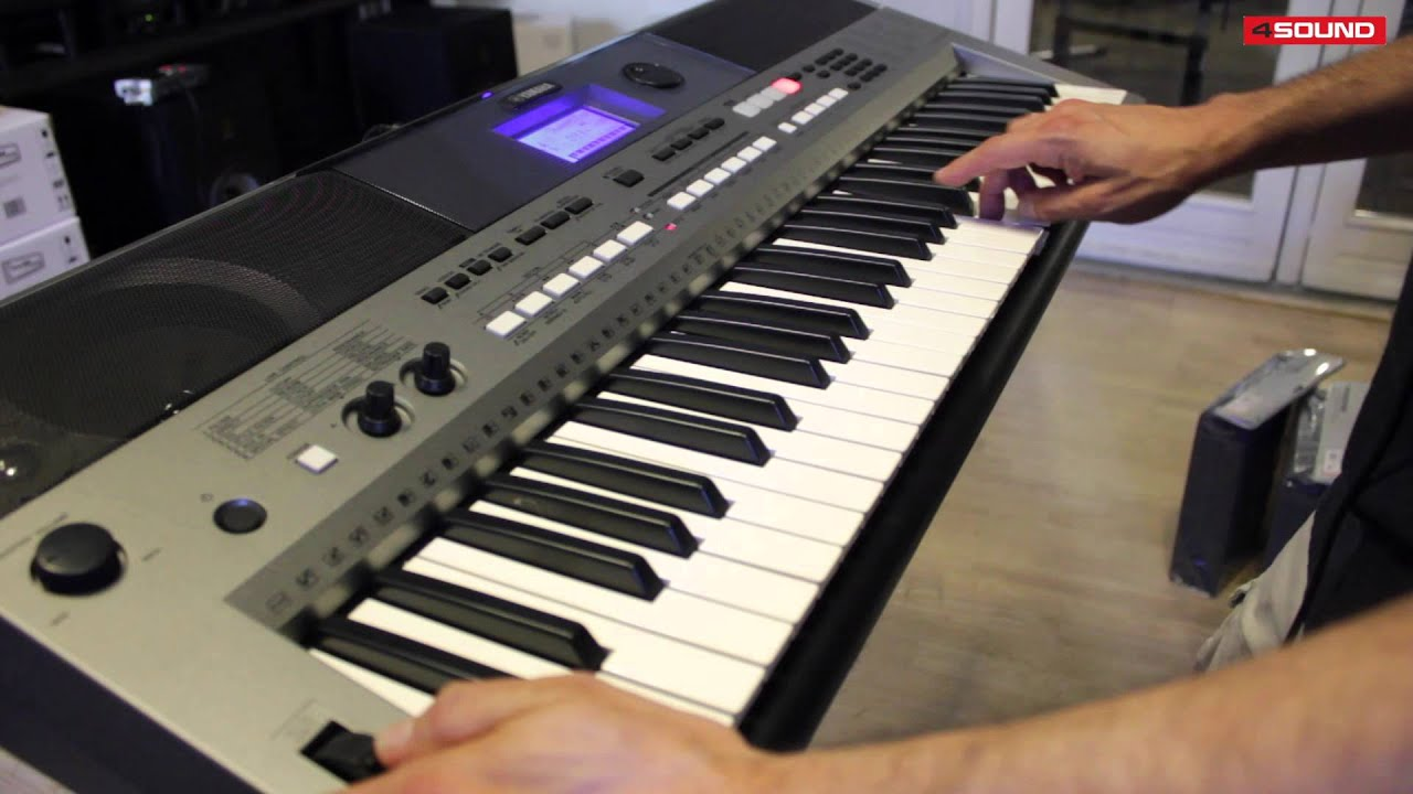 4sound gear guide yamaha psr e443 youtube. Black Bedroom Furniture Sets. Home Design Ideas