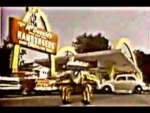 "1963 McDonalds Restaurant ""First Ronald McDonald ...