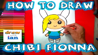 How to Draw Chibi Fionna from Adventure Time