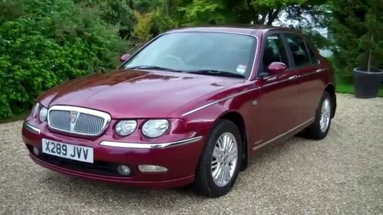 2001 x rover 75 club se 4dr only 32000 miles youtube. Black Bedroom Furniture Sets. Home Design Ideas