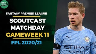 Manchester City v Fulham | FPL Gameweek 11 Watchalong | Fantasy Premier League Tips 20/21