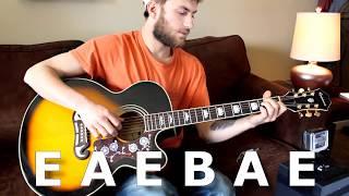 Try a Little Kindness - Glen Campbell - Guitar Lesson - Beginner / Intermediate - Intro/Verse/Chorus