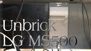 Unbrick LG MS500 Qualcomm HS USB QDLoader 9008 con Z3X