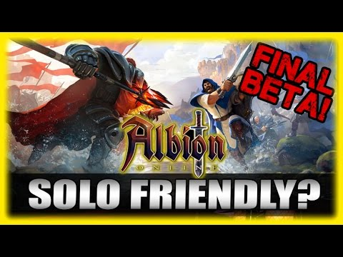 Solo Exploring Red Zones? Albion Online Final Beta! Galahad Update Impressions Gameplay Part 3