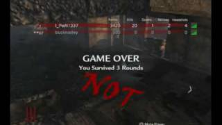 Call Of Duty 5 Glitches -- Nazi Zombies: Never Ending Match + More