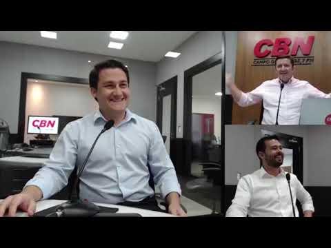 Entrevista CBN Campo Grande: Rennê Augusto Gomes Xavier  e André Zavala Pauletto