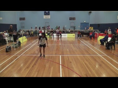2016 Australasian Under 17 Badminton Championships - Girls Singles Final