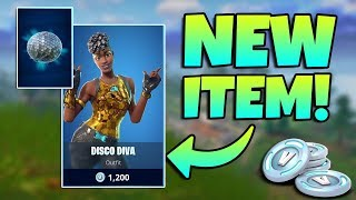 NEW DISCO DIVA SKIN + DICSO BALL BACKBLING GAMEPLAY / Fortnite Battle Royale Livestream