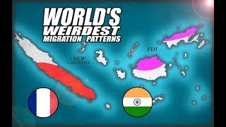 Fiji & New Caledonia: World