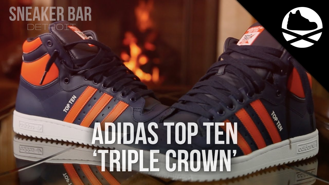 sale retailer 5bc15 f708a Villa Exclusive adidas Top Ten  Triple Crown  - Review - YouTube