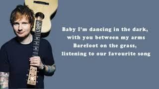 ed sheran (perfect) official lyrics video