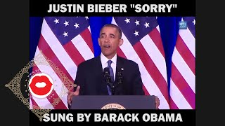 Obama Nyanyi Lagu Sorry Justin Bieber - Just Video (Ngobas.com) Mp3