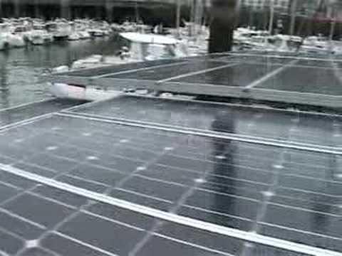 Bateaux solaires à Dieppe