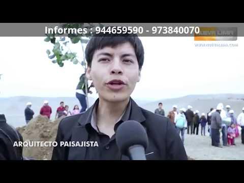 LUXURY - Nueva Lima - PLANTACIÓN DEL PRIMER ÁRBOL. Separe Ya su lote con $ 100 DOLARES