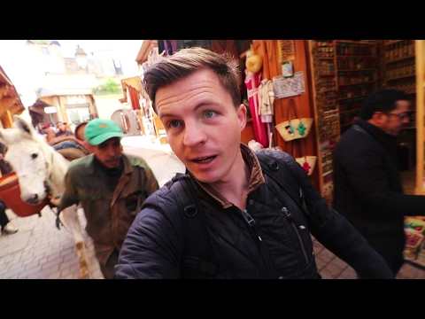LARGEST MEDINA in the WORLD - Fes, Morocco
