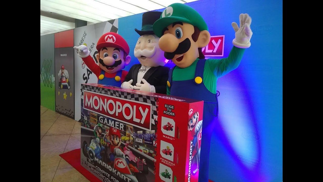 Monopoly Gamer Mario Kart El Mejor Juego De Mesa Youtube