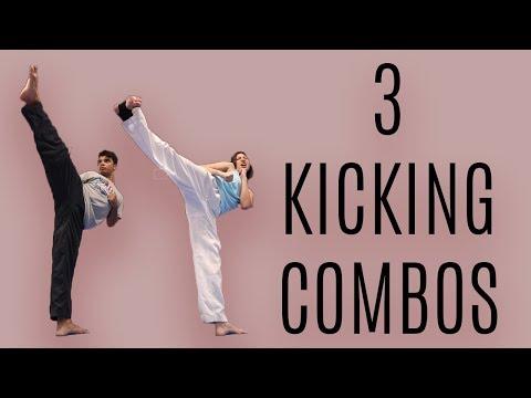 TAEKWONDO KICKING COMBOS WITH ALEX WONG Mp3