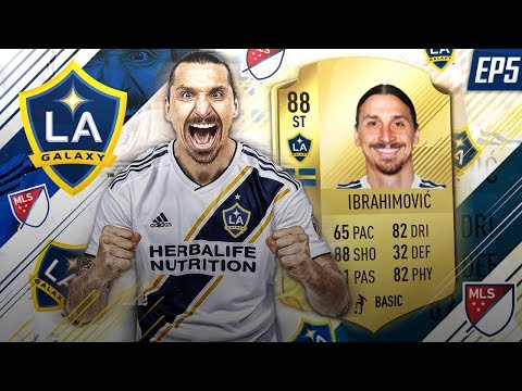 FIFA 18 Zlatan's LA Galaxy Career Mod - EP5 - Time To Finally Use All Our New Signings!!