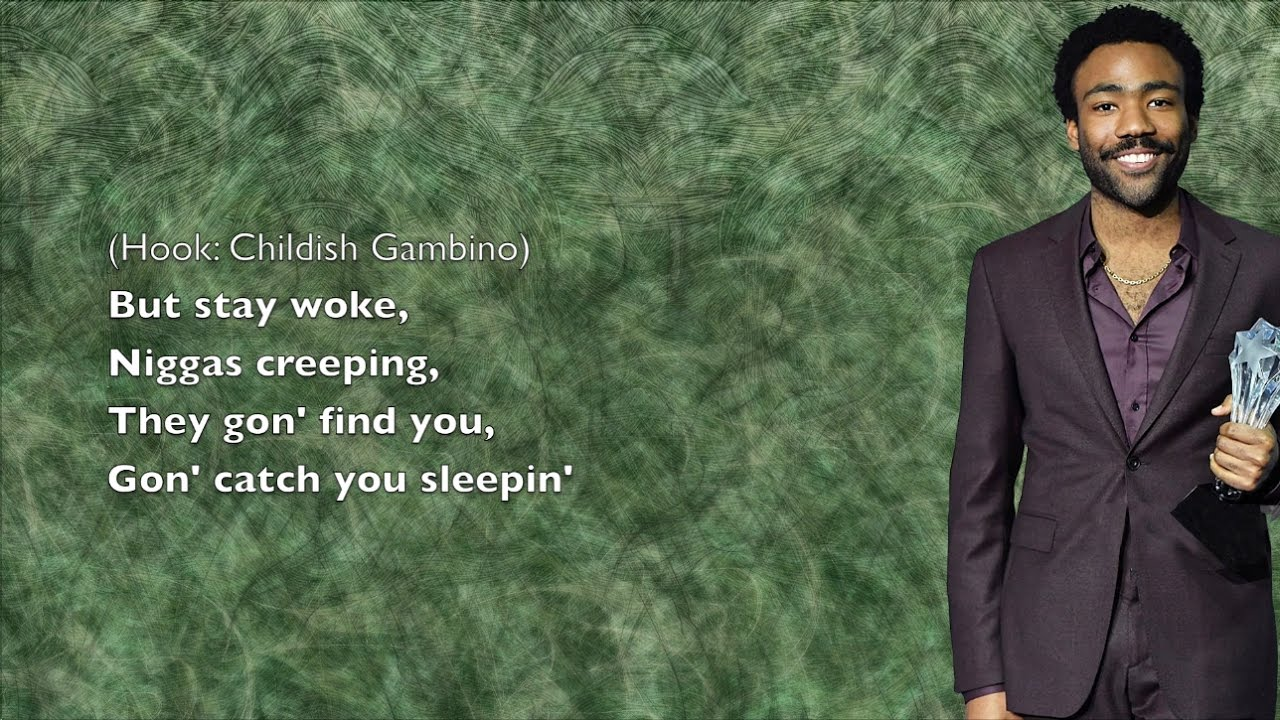 childish gambino lyrics - 1280×720