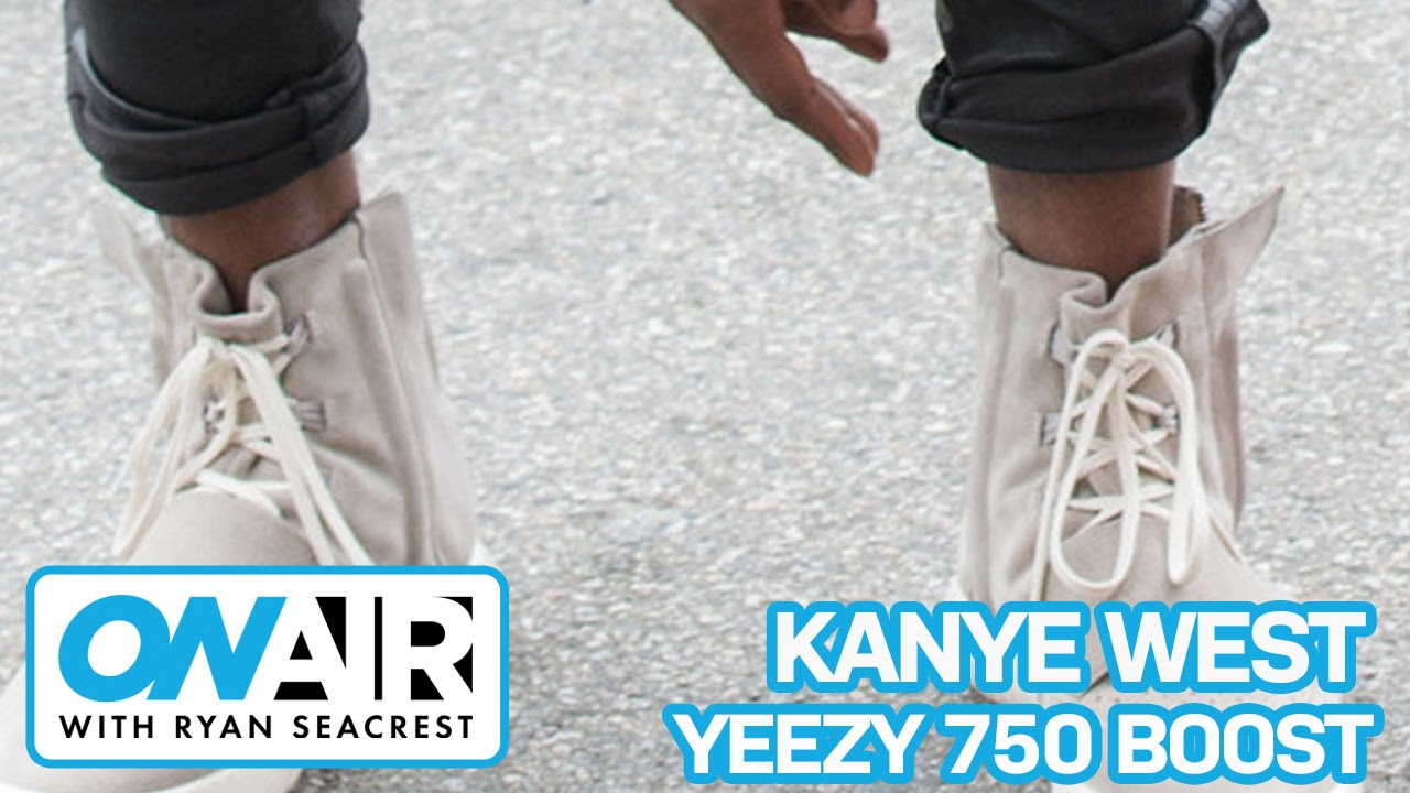 promo code 04248 4fd24 Kanye West On Adidas Yeezy 750 Boost | On Air with Ryan Seacrest