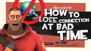 TF2: How to lose connection at bad time [Epic Fail]