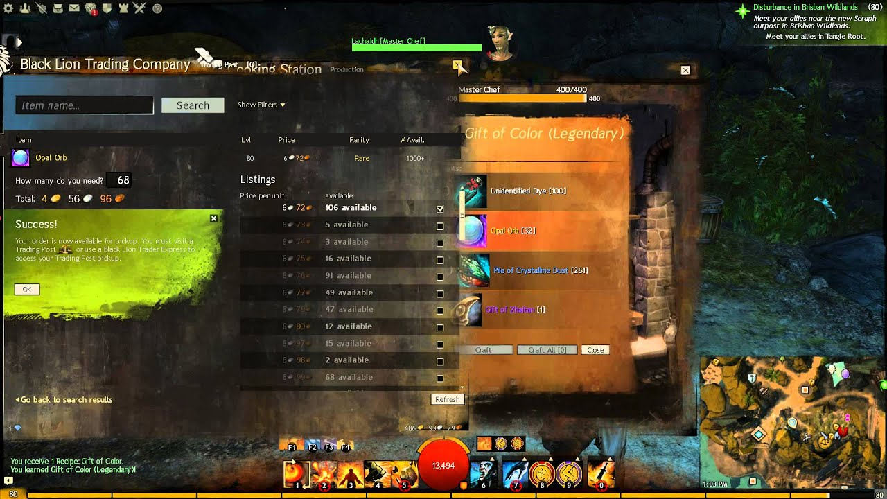 Making; Gift of The Bifrost (Guild Wars 2) - YouTube
