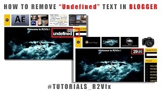 "How to Remove ""Undefined"" text from your posts in Blooger #blogger Tutorial"