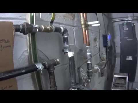 Chiller | Corrosion Coupon Rack | Chemical Treatment Piping | HVAC
