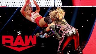 Natalya and Lacey Evans battle in Last Woman Standing Match: Raw, Oct. 7, 2019