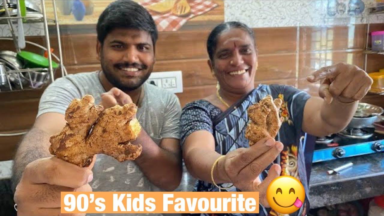 அம்மா ரெண்டு வாரமா போராடி இப்போதான் இது பண்ண முடிந்தது 🤤   90's kids favourite    Amma Kai Pakkuvam