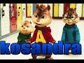 Элвин и Бурундуки поют песню Kosandra Miyagi Amp Andy Panda mp3