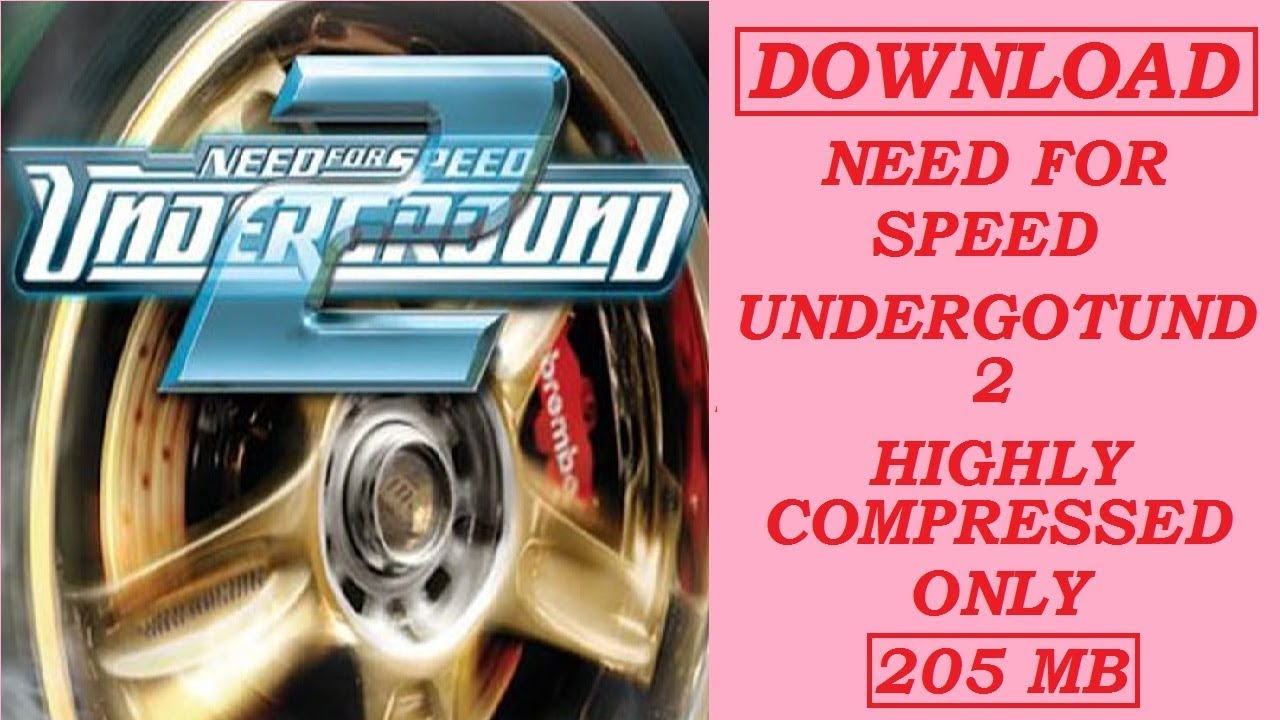 download need for speed underground 2 highly compressed