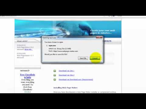 Web Page Maker Download And Installation In English