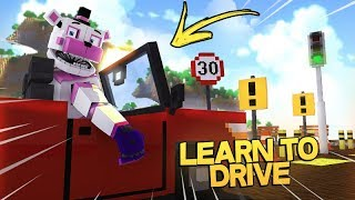 Funtime Freddy Learns How To Drive! - Minecraft FNAF Roleplay