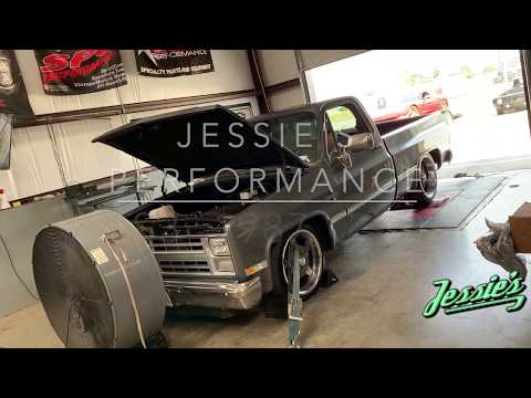 Dyno tuning an LS3 swapped 87 C10 truck