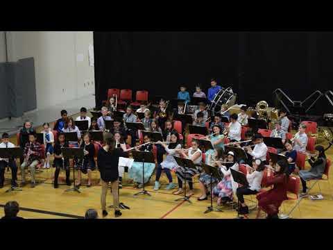 Redmond Elementary Schools - 2nd Year Adv. Band (ALL THROUGH THE NIGHT)