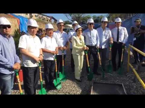 FEU Alabang Ceremonial Concrete Pouring