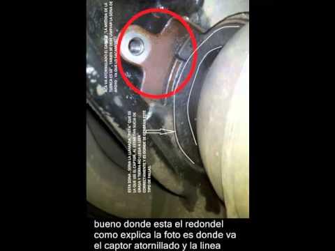 Anomalia Abs Peugeot 307 Limpieza De Captor Youtube