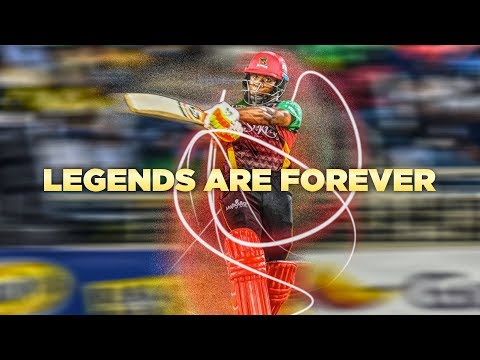 Ultimate Rejects - Legends Are Forever Hero CPL T20 2018 Promo