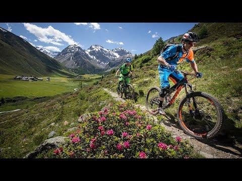 Singletrail Paradies der Alpen - Davos Klosters