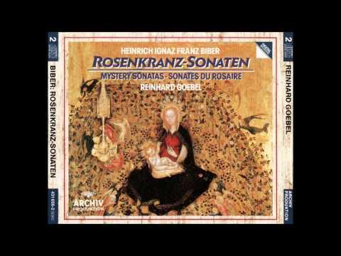 H.I.F. Biber Rosenkranz Sonaten, The Mystery Sonatas 1