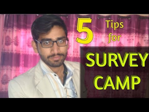 5 TIPS for the SURVEY CAMP | WoW