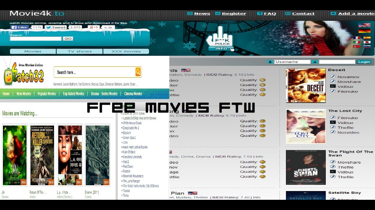 2 Great Websites To Watch Free Movies and TV Shows - YouTube