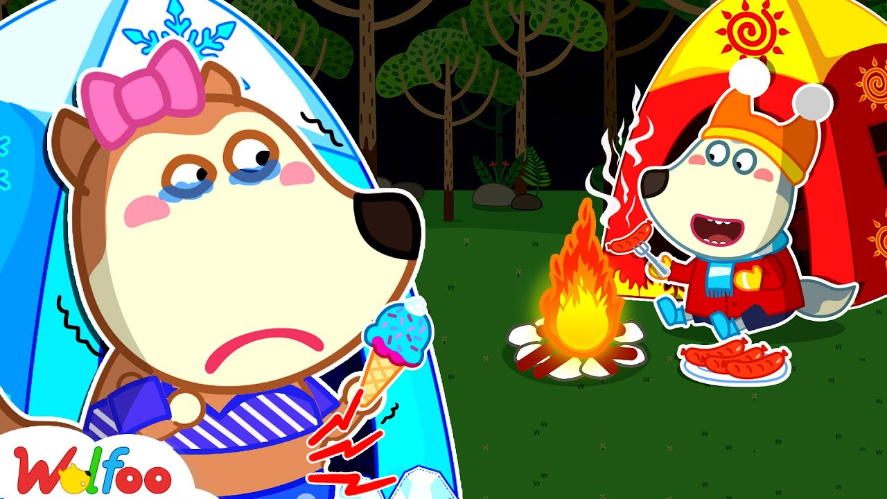 Download Wolfoo, Don't Make Lucy Cry - Let's Go Camping Together - Kids Stories About Family | Wolfoo Channel