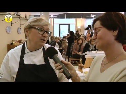 Lo Chef Cristina Lunardini per Ratatuja all'hotel Solemare di Albenga