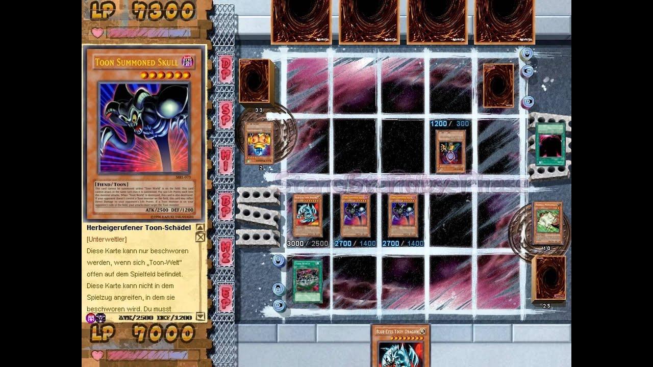 Joeys Karte.Yu Gi Oh Power Of Chaos Joey The Passion Duell 19 Toon Glocke Der Zerstorung