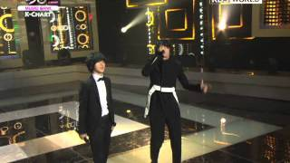 [Music Bank K-Chart] Breakups are so Like Me - Kim Jang-hoon (Feat. Super Junior) (2011.10.07)